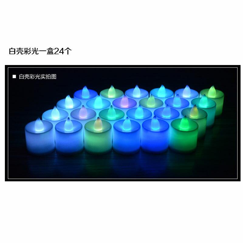 蠟燭燈 電子蠟燭 LED電子蠟燭燈生日表白浪漫求婚愛心形情人節婚禮驚喜創意布置『CM43571』