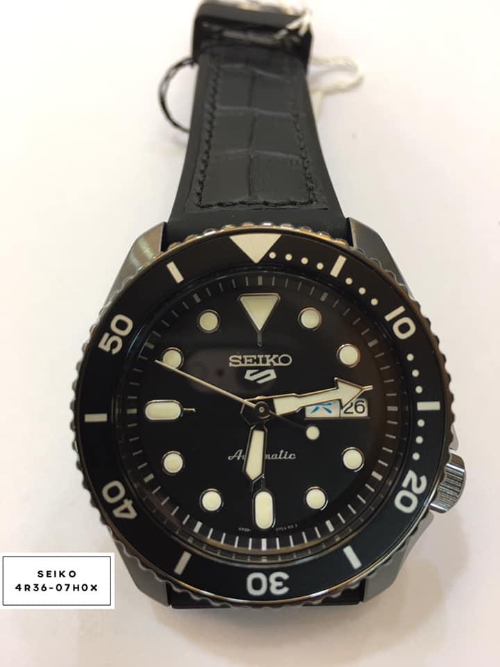 SEIKO 5 sport運動潮流機械腕錶4R36-07G0X(SRPD65K3)