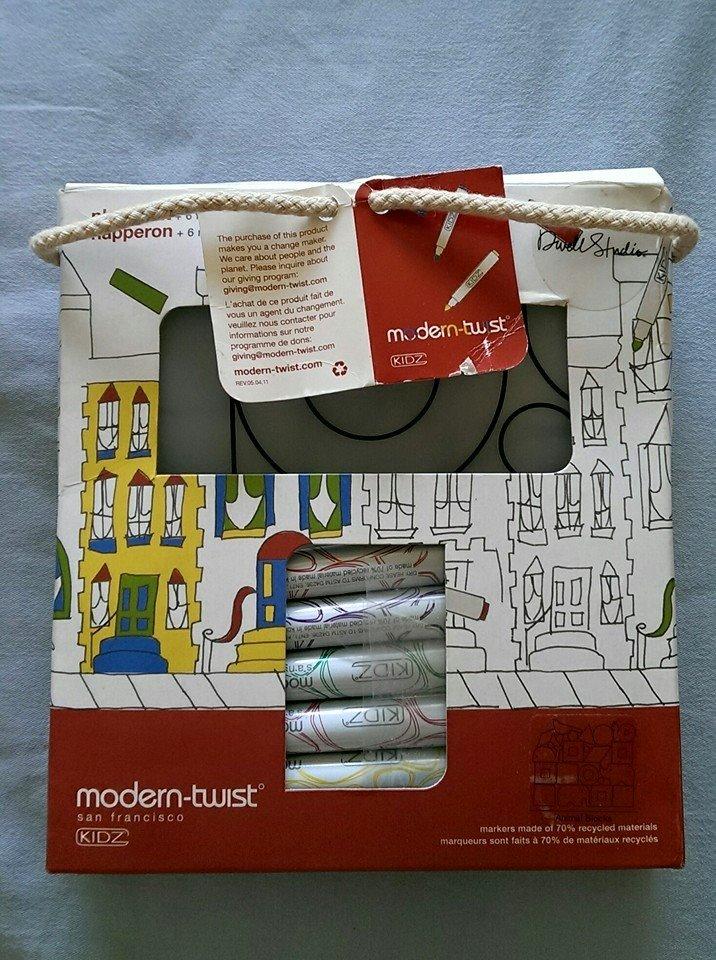 ★啦啦看世界★ Modern Twist 抗菌兒童餐墊套組(舊包裝)- 動物 / 生日禮物 餐桌 餐具 學習 外出 彌月禮 滿月 禮盒