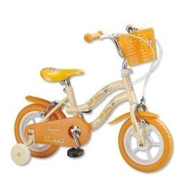 【淘氣寶寶】【CHING-CHING親親】12吋河馬腳踏車(黃澄色)(QW1250Y)【保證原廠公司貨】