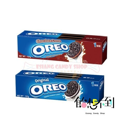 OREO 奧利奧夾心餅乾- 巧克力 / 香草 137g