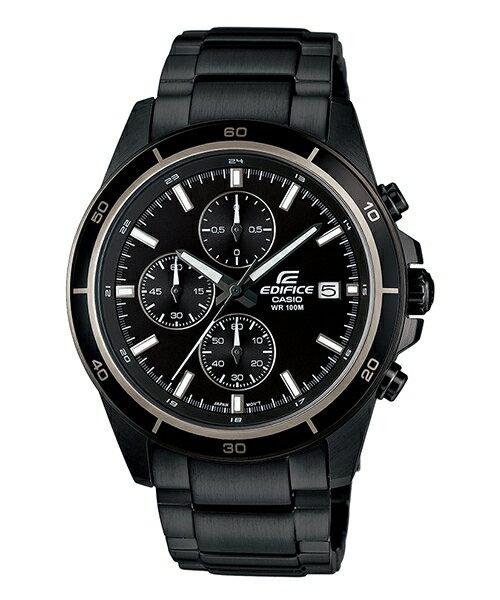 CASIO EDIFICE EFR-526BK-1A1黑騎士流行時尚腕錶/黑面44mm