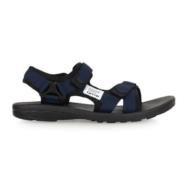 LOTTO男織帶涼鞋(魔鬼氈戲水海邊沙灘海灘【02017124】≡排汗專家≡