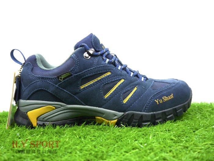 【H.Y SPORT 】玉山(YuShan)GORE-TEX 短筒防水健步鞋 / 輕量健步鞋 / 登山鞋 男女款 戶外鞋 D18(非環保材質鞋底) 1