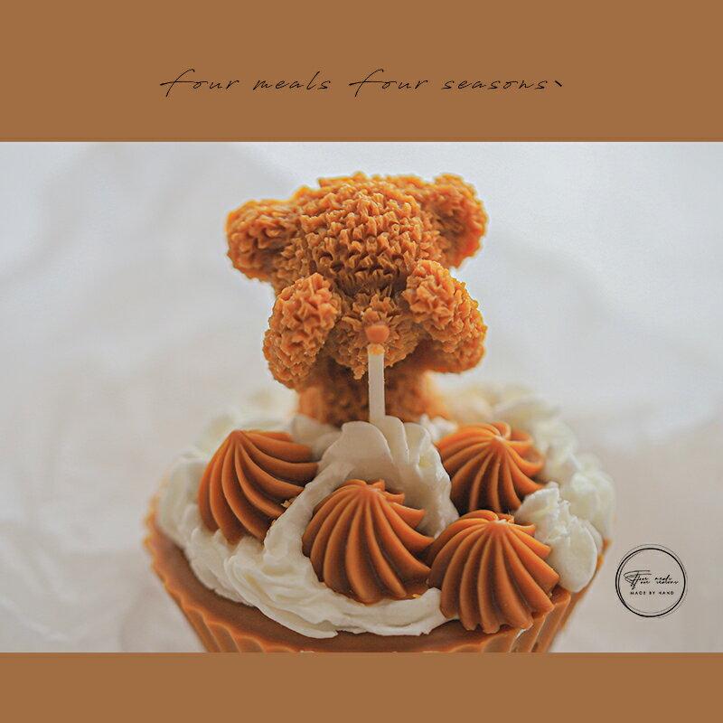 原創香薰蠟燭小蛋糕圣誕新年生日禮物臥室