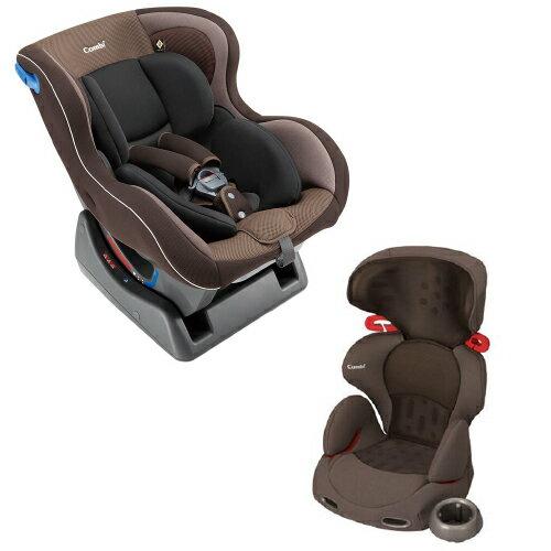 安琪兒婦嬰百貨 【組合價】日本 Combi WEGO 0-4汽座+New Buon Junior 成長型汽車安全座椅