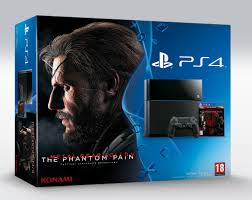 10% de descuento en Consola Playstation 4 500Gb + MGS V: Phantom Pain en Rakuten