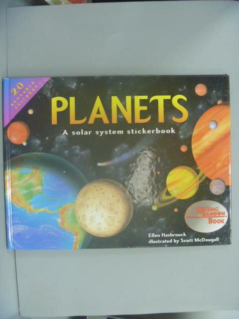 ~書寶 書T7/少年童書_ZBI~Planets: A Solar System Stic