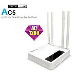 TOTOLINK AC5 AC1200超世代路由器 真正支援光纖100M以上