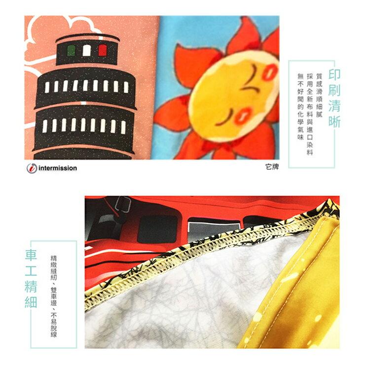 【Intermission】LCS374 海洋生態 外銷日本 彈力保護套 行李箱套 旅行箱防塵罩 防塵套 特殊圖案(M 、L號 行李箱) 5