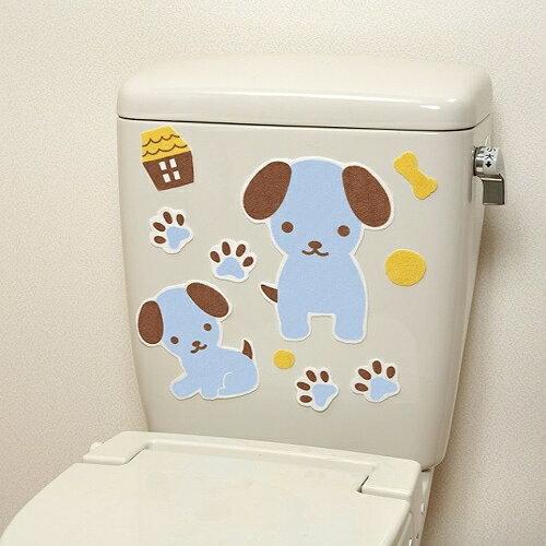 日本創意生活雜貨館:日本製造SANKO兒茶素馬桶消臭貼(小藍狗)