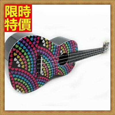 ★烏克麗麗ukulele-24吋可愛印花夏威夷吉他四弦琴弦樂器6款69x40【獨家進口】【米蘭精品】