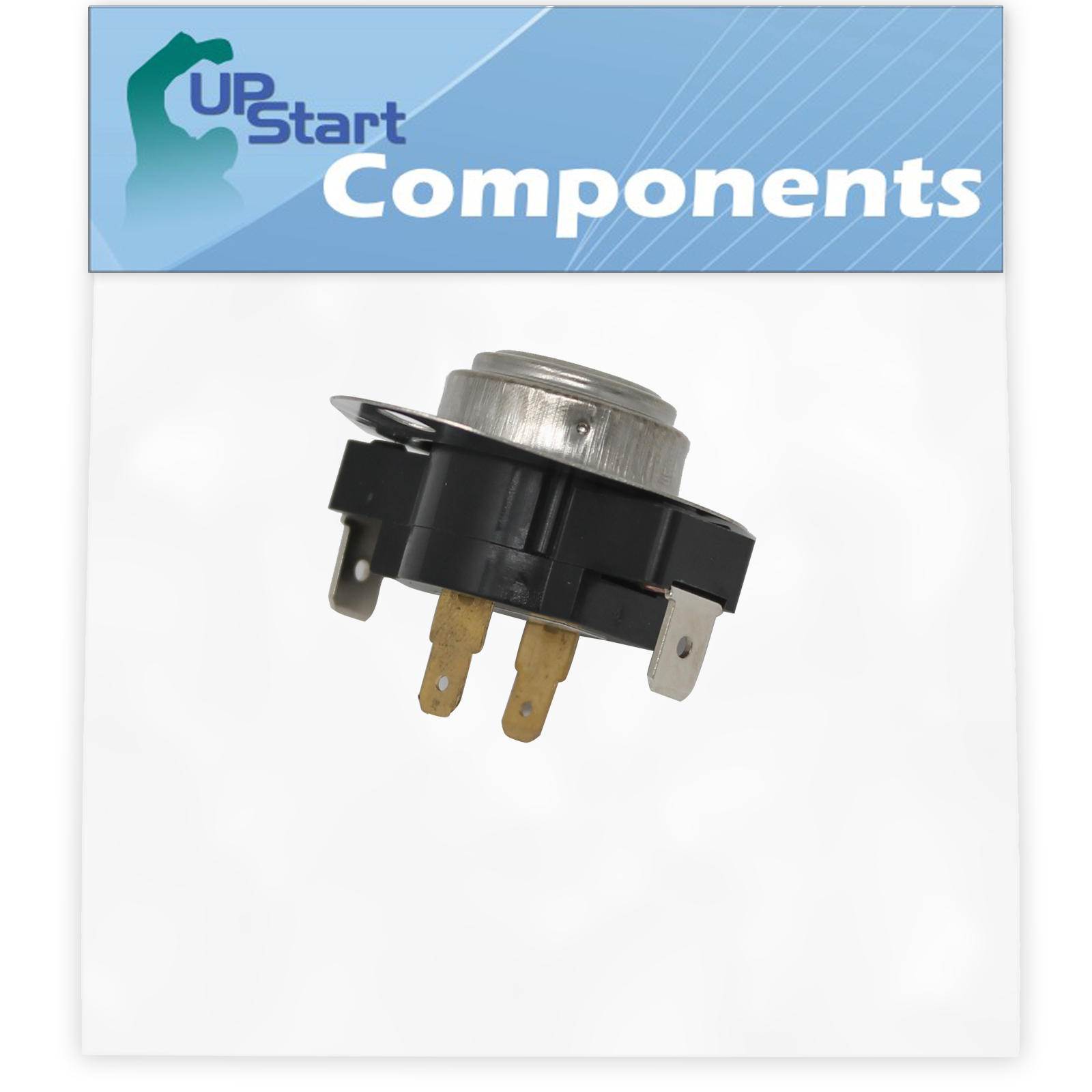 Replacement 3387134 Fixed Thermostat for Admiral, Amana, Crosley, Estate,  Inglis, Kenmore, Kitchenaid, Maytag, Roper, Whirlpool Dryers