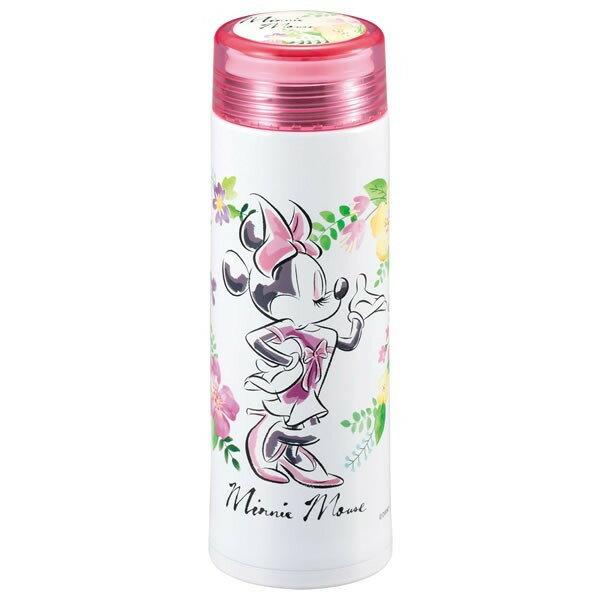 米妮 不鏽鋼 保溫瓶 0.3L 水瓶 迪士尼 日貨 正版授權J00010058
