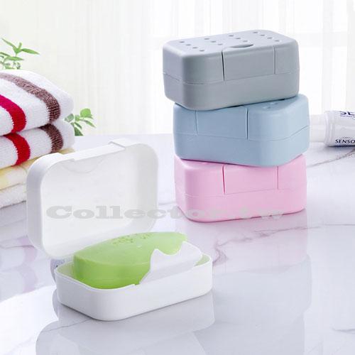 【F16120202】創意旅行便攜式密封肥皂盒 香皂盒 簡約有蓋密封皂盒