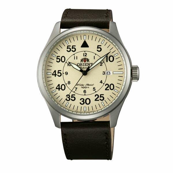 Orient 東方錶(FER2A005Y)東方霸王飛行機械腕錶/黃面42mm