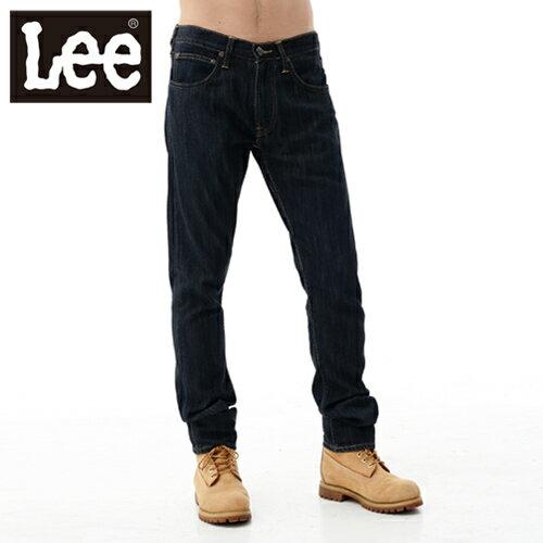 【單一價↘899】Lee 牛仔褲 721 低腰修身小直筒-男款(原藍色)