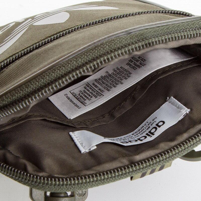 【毒】adidas originals 三葉草 腰包 小包 側背包 軍綠 DV2407 4