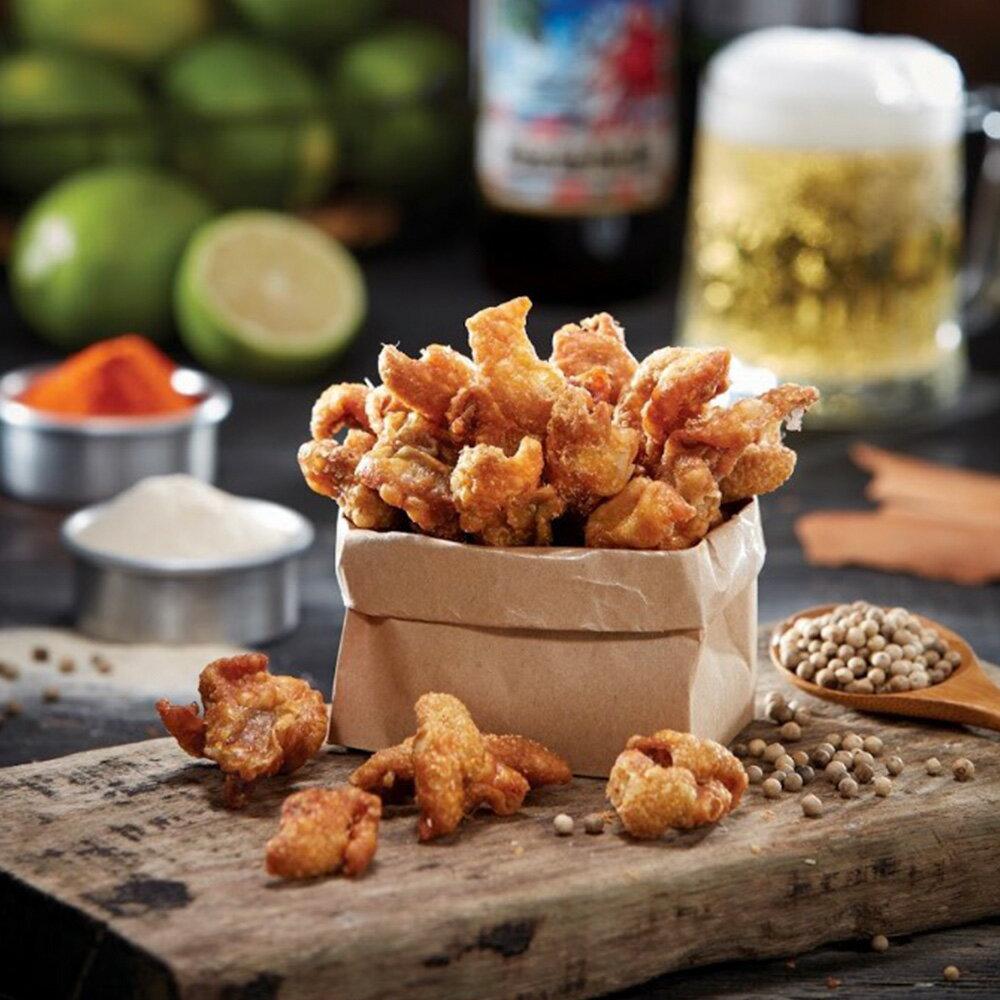 經脆脆酥炸雞皮餅乾 經典白胡椒 30g 零食 傳統小吃 下酒菜 1