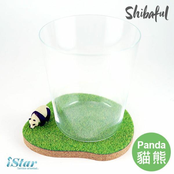 杯墊 日本 獨家代理 草地/草皮/動物 Shibaful --貓熊