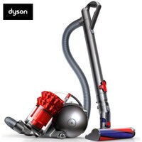 戴森Dyson到dyson Ball Fluffy+ CY24圓筒式吸塵器 炫麗紅