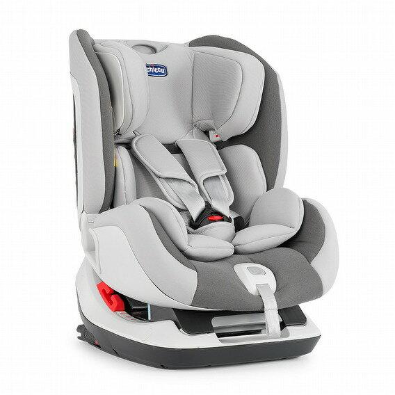 Chicco Seat Up 012 isofix 安全汽座(時尚灰)【品牌汽座保護墊一只】●義大利品牌●隋棠代言●汽車安全座椅