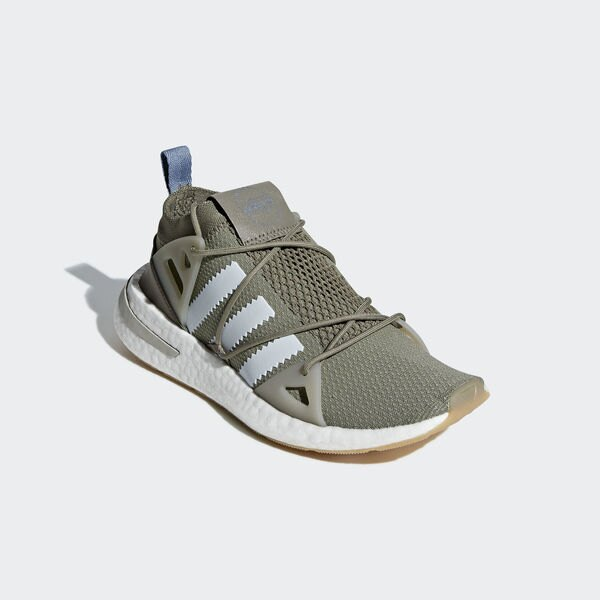 Adidas Originals Arkyn W [B37072] 女鞋 運動 休閒 流行 套襪 舒適 避震 橄欖綠