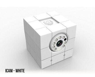 荷蘭Amaryllo愛瑪麗歐  iCam HD 360 全功能升級 無線網路攝影機 純潔白款 720P+256-bit加密+真雙向通話