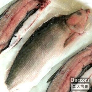 無刺虱目魚半片(半尾)約300g + 蒜味虱目魚丸約300g*10顆 1