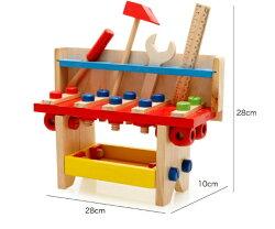 【晴晴百寶盒】預購 木製多功能拆裝工作檯II 兒童動手組裝製作工作 親子早教 益智遊戲玩具 平價促銷 禮物 P093