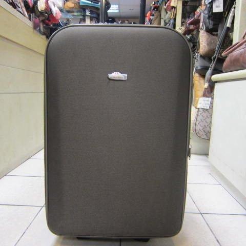 ~雪黛屋~義大利 范倫鐵諾 拉桿21吋行李箱 超大輪設計 蜂巢板材質耐摔輕巧好推拉 V7018 綠卡