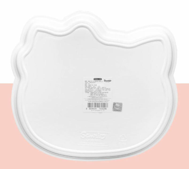 X射線【C169296】Hello Kitty 頭型托盤S,小物收納架 / 飾品盤 / 點心盤 / 零錢盤 / 水果盤 / 茶盤 1