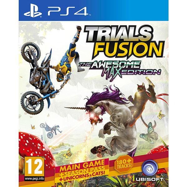 2097 電玩玩具公仔舖:PS4特技摩托賽:聚變完整版(含所有DLC)-英文版-TrailsFusionMax