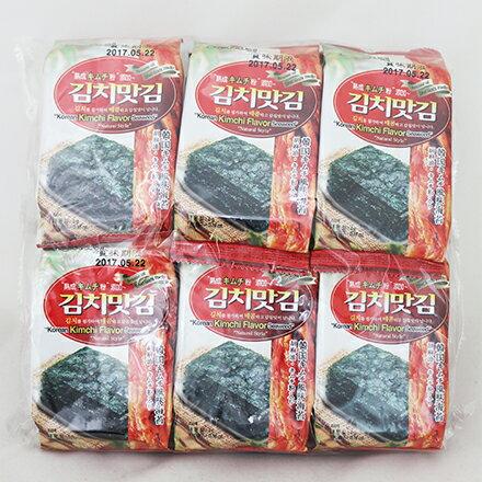 [敵富朗超市]JAEWON激安殿堂泡菜海苔12入 - 限時優惠好康折扣