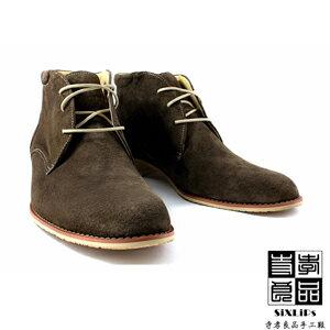 寺孝良品 英倫摩登牛巴戈沙漠短靴 咖啡 3