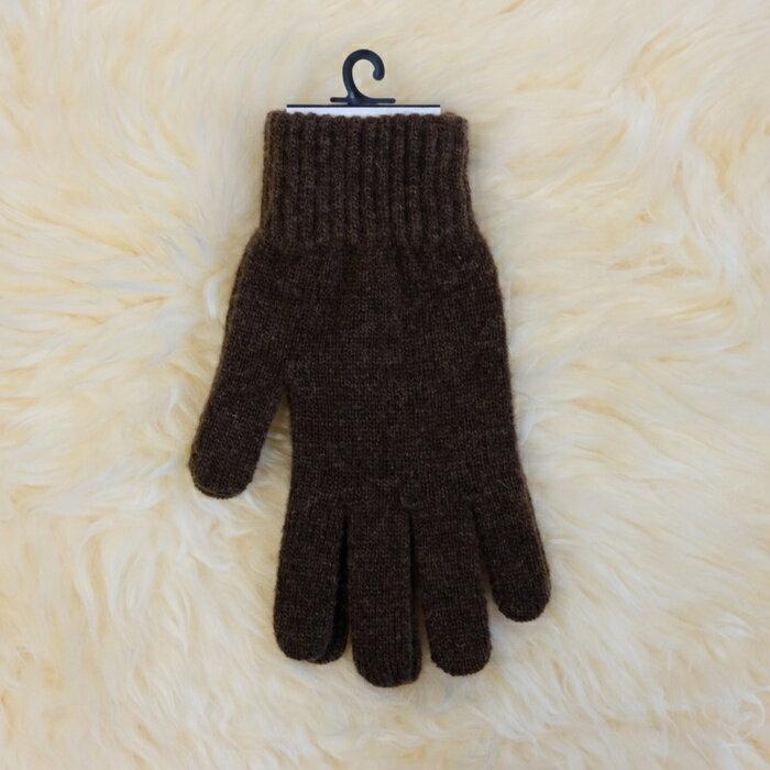 紐西蘭100%美麗諾羊毛手套*摩卡