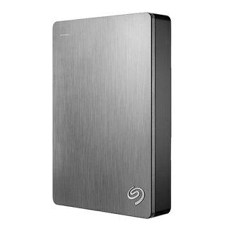 Seagate Backup Plus 4TB 2.5吋行動硬碟 - 銀【愛買】