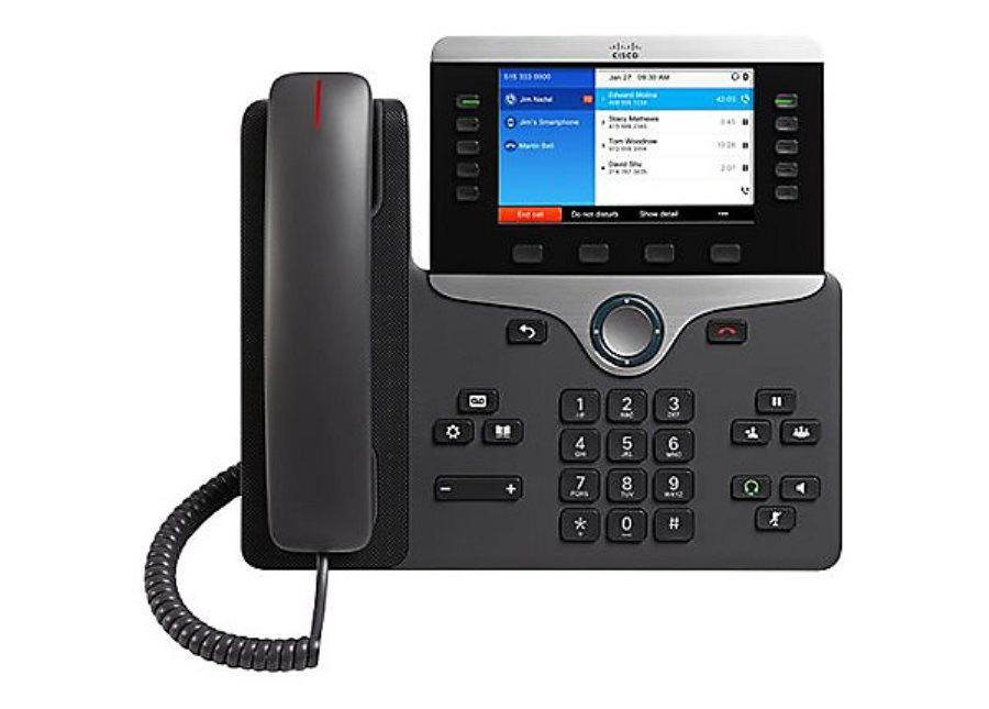 Cisco CP-8851 IP PHone with Multiplatform Phone firmware New,  CP-8851-3PCC-K9