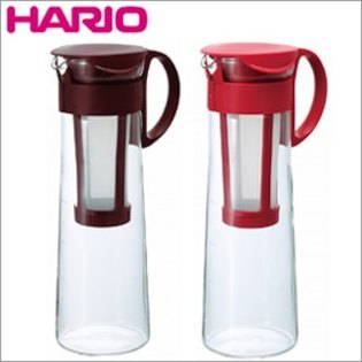2色日本原裝HARIO冷泡咖啡壺冰釀咖啡壺冷水瓶冷泡壺MCPN-14RMCPN-14CBR耐熱1000ml