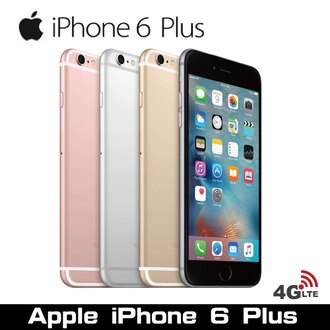 福利品 Apple iPhone 6 Plus 128GB 5.5 吋智慧型手機 天堂m妖精掛機貼錢神器另有賣6S