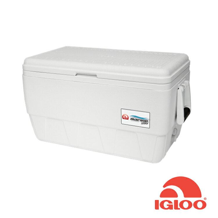 Igloo MARINE UL系列三日鮮48QT冰桶44681/城市綠洲(抗UV、露營用品、冰桶、美國冰屋)