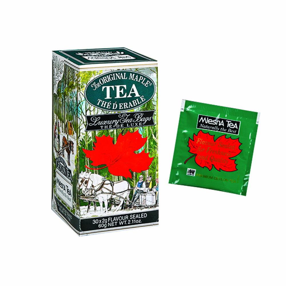 曼斯納 MlesnA - Maple Tea 楓糖紅茶 (30入/盒) 錫蘭紅茶/茶包