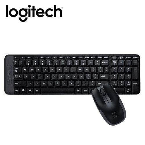 Logitech 羅技 MK220 無線鍵鼠組【三井3C】
