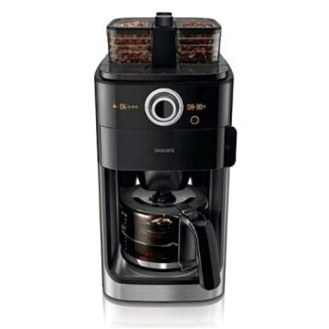 領券再折850元+白金回饋10%樂天點數★飛利浦【HD7762】全自動雙豆槽美式咖啡機
