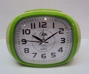 卡通創意可愛 康巴絲鬧鐘(綠色)