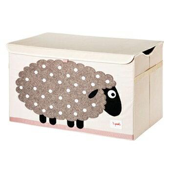 小烏龜精品童裝店:新品上市!超大容量好收納加拿大3Sprouts玩具收納箱-綿羊台灣授權代理商