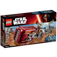 星際大戰 LEGO樂高積木推薦到樂高積木LEGO《 LT75099 》STAR WARS™ 星際大戰系列 - Reys Speeder™就在東喬精品百貨商城推薦星際大戰 LEGO樂高積木