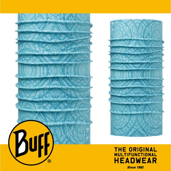 BUFF 西班牙魔術頭巾 COOLMAX涼感抗UV系列 [淡藍靈魂] BF111440-789