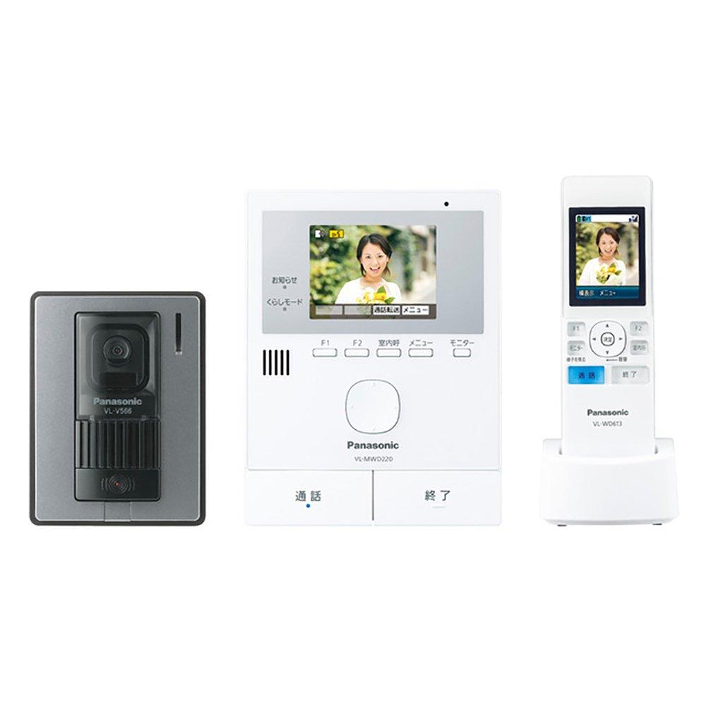 日本公司貨 Panasonic 國際牌 VL - swd220K  視訊門鈴 對講機 錄影 防盜 監視  日本必買代購