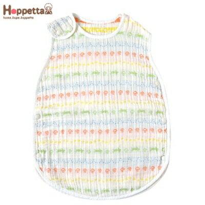日本 Hoppetta  彩虹蘑菇四層紗防踢背心(嬰童款) - 限時優惠好康折扣